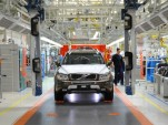 2014 Volvo XC90 Classic production in Daqing, China