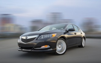 2014-2015 Acura RLX Recalled To Fix Headlight Flaw