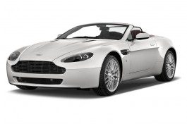 2015 Aston Martin V8 Vantage 2-door Convertible Angular Front Exterior View
