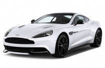 2015 Aston Martin Vanquish 2-door Coupe Angular Front Exterior View