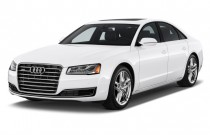 2015 Audi A8 4-door Sedan 3.0T Angular Front Exterior View