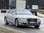 2015 Audi A8 facelift spy shots