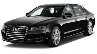 2015 Audi A8 L 4-door Sedan 3.0T Angular Front Exterior View
