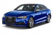 2015 Audi S3 4-door Sedan quattro 2.0T Premium Plus Angular Front Exterior View