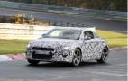 2015 Audi TT Spy Video