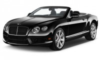 2015 Bentley Continental GT 2-door Convertible Angular Front Exterior View