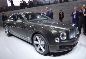 2015 Bentley Mulsanne Speed, 2014 Paris Auto Show