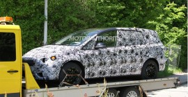 2015 BMW 1-Series Gran Turismo seven-seater spy shots