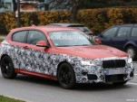 2015 BMW 1-Series Hatchback facelift spy shots