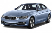 2015 BMW 3-Series 4-door Sedan ActiveHybrid 3 Angular Front Exterior View