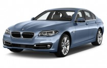 2015 BMW 5-Series 4-door Sedan ActiveHybrid 5 RWD Angular Front Exterior View