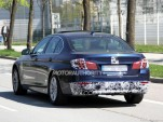 2014 BMW 5-Series facelift spy shots