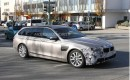 2015 BMW 5-Series Touring facelift spy shots