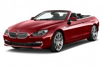 2015 BMW 6-Series 2-door Convertible 640i RWD Angular Front Exterior View