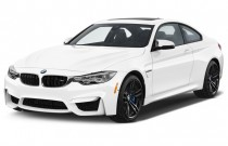2015 BMW M4 2-door Coupe Angular Front Exterior View