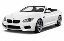 2015 BMW M6 2-door Convertible Angular Front Exterior View