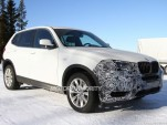 2015 BMW X3 facelift spy shots