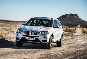 2015 BMW X3 Crossover Adds Diesel AWD Model, Other Updates