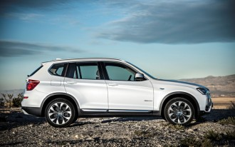 2015 BMW X3 Earns Five-Star Safety Ratings