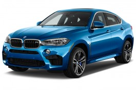 2015 BMW X6 M AWD 4-door Angular Front Exterior View