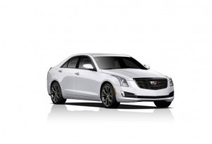 2015 Cadillac ATS equipped with Midnight package
