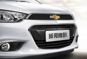 2015 Chevrolet Aveo (Chinese spec)
