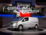 2015 Chevrolet City Express van, 2014 Chicago Auto Show