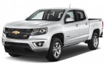 "2015 Chevrolet Colorado 4WD Crew Cab 128.3"" Z71 Angular Front Exterior View"