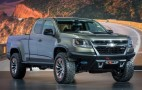 Diesel-Powered Chevrolet Colorado ZR2 Concept Crawls Into L.A.