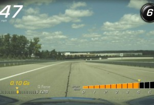 2015 Chevrolet Corvette Performance Data Recorder Valet Mode