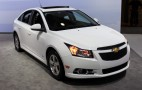 2015 Chevy Cruze Gets New Styling And Tech: 2014 New York Auto Show Live Photos