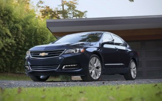 2014-2015 Chevrolet Impala Recalled For Possible Airbag Flaw