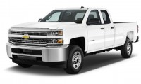 """2015 Chevrolet Silverado 2500HD 2WD Double Cab 144.2"""" Work Truck Angular Front Exterior View"""