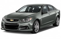 2015 Chevrolet SS 4-door Sedan Angular Front Exterior View