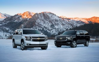 Feds Crash-Test 2015 Chevrolet Suburban, Rate It Lower Than Tahoe