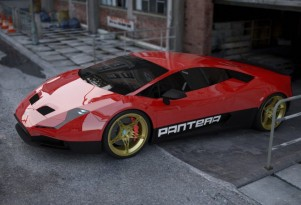 2015 De Tomaso Pantera concept by Stefan Schulze