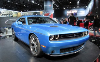 2015 Dodge Challenger First Look: Live Photos
