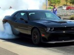 2015 Dodge Challenger SRT Hellcat burnout