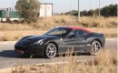 2015 Ferrari California replacement test mule spy shots