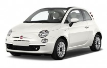 2015 FIAT 500c 2-door Convertible Lounge Angular Front Exterior View