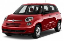 2015 FIAT 500L 5dr HB Lounge Angular Front Exterior View
