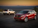 2015 Ford Edge Earns Mostly Good IIHS Scores, Five-Star NCAP Rating