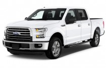 "2015 Ford F-150 2WD SuperCrew 145"" XLT Angular Front Exterior View"