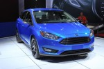 2015 Ford Focus Updates: New Front Styling, 1.0-Liter Three-Cylinder Option - Live Photos