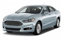 2015 Ford Fusion Energi 4-door Sedan Titanium Angular Front Exterior View
