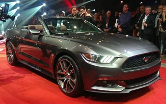2015 Mustang Convertible, Fuel Economy, 2014 Chevy Equinox: What's New @ The Car Connection