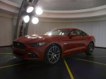 2015 Ford Mustang inside Ford's lighting lab