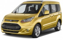 2015 Ford Transit Connect Wagon 4-door Wagon LWB Titanium w/Rear Liftgate Angular Front Exterior