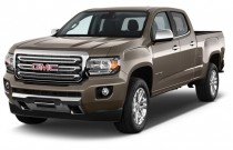 "2015 GMC Canyon 2WD Crew Cab 128.3"" SLT Angular Front Exterior View"
