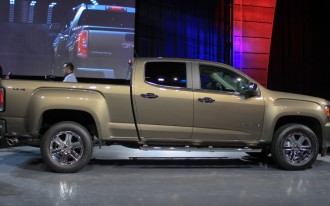 2015 GMC Canyon Video Preview: 2014 Detroit Auto Show
